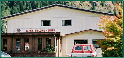 Tahsis Building Supplies, Tahsis British Columbia